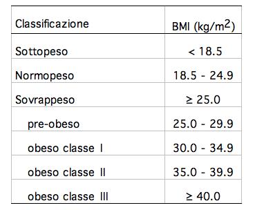 prezzo speciale per la vendita di scarpe qualità perfetta Siamo sovrappeso? Ci aiuta a capirlo Il BMI | FISIALOGANDO